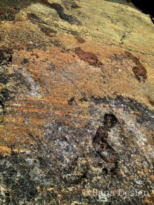 Jalanjäljet kalliolla