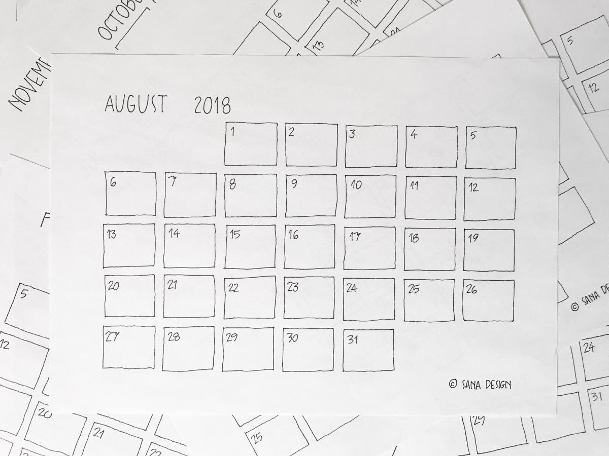 Decluttered Calendars <3